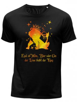 Löwe King Herren T-Shirt