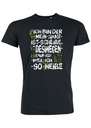 Mein Name ist Scheiße Herren T-Shirt