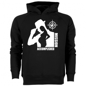 Mission Accomplished Herren Hoodie