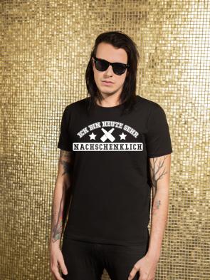 Nachschenklich Herren T-Shirt