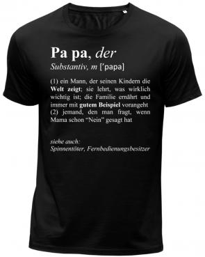 Papa Duden Herren T-Shirt