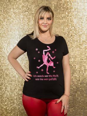 Mach mir die Welt Damen T-Shirt