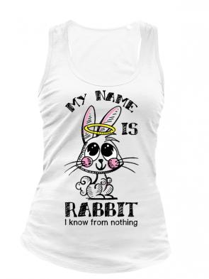 Rabbit Damen Tank weiß