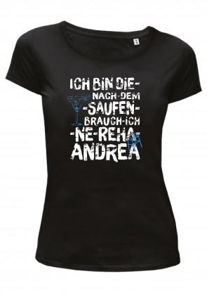 Andrea Damen T-Shirt