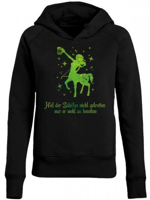 Schütze Grün Damen Hoodie