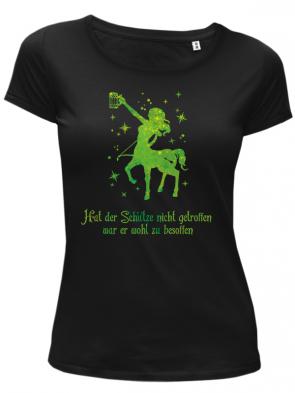 Schütze Grün Damen T-Shirt