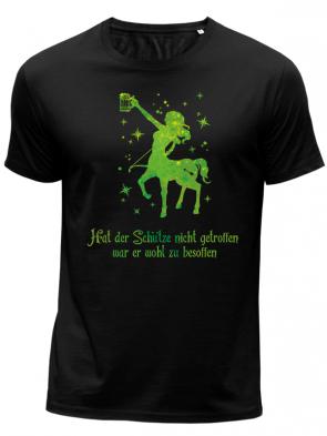 Schütze Grün Herren T-Shirt