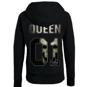Queen in Skull Damen Hoodie