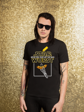 Star Wurst Herren T-Shirt