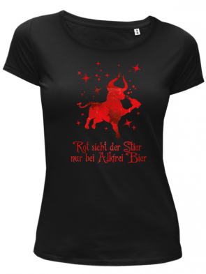 Stier Damen T-Shirt
