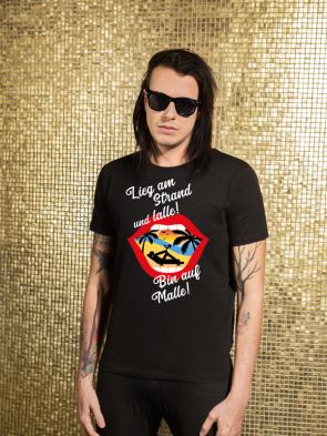 Bin auf Malle Herren T-Shirt