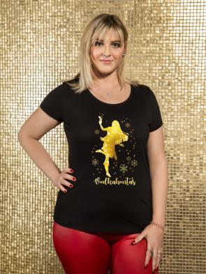 Glitter Vodkahontas Damen T-Shirt