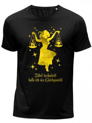 Waage gelb Herren T-Shirt