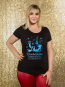 Blauchen Panther Damen T-Shirt