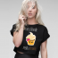 Cupcake Blondie Crop Top